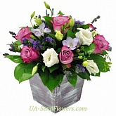 Flower arrangement Conservative charm