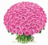 Bouquet of 151 pink roses