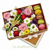 Flowers in a box For you
