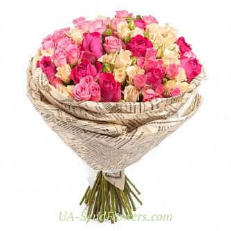 Buy Bouquet Vintage cheap with delivery to Kiev and Ukraine
