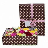 Flowers in a box A love heart