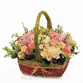 Basket of flowers Bardolino