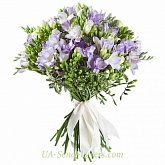 Bouquet of freesia Delicate