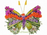 Toy Flower Butterfly - floral oasis