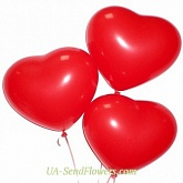 Balloons Three hearts