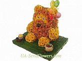 Toy Flower Honey Bear