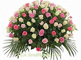Basket of flowers Luxury splendor
