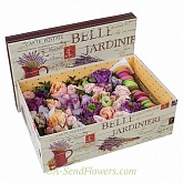 Flowers in box Juliet