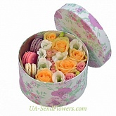 Flowers in a box Velor